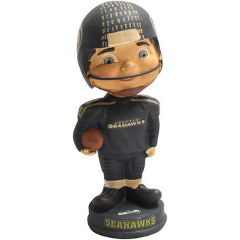 Classic Vintage Seattle Seahawks Football Player Vintage Classic Bobblehead