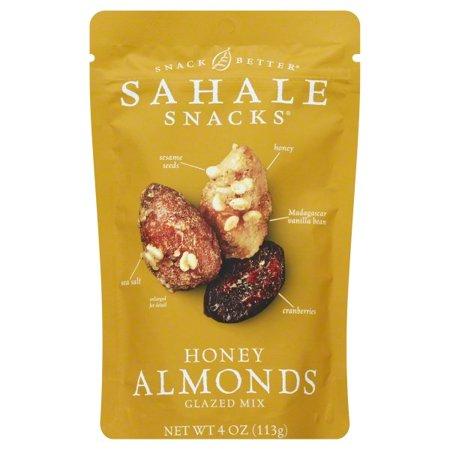 Sahale Snacks Glazed Mix Honey Almonds, 4 Oz. (Halloween Snack Mix Without Nuts)