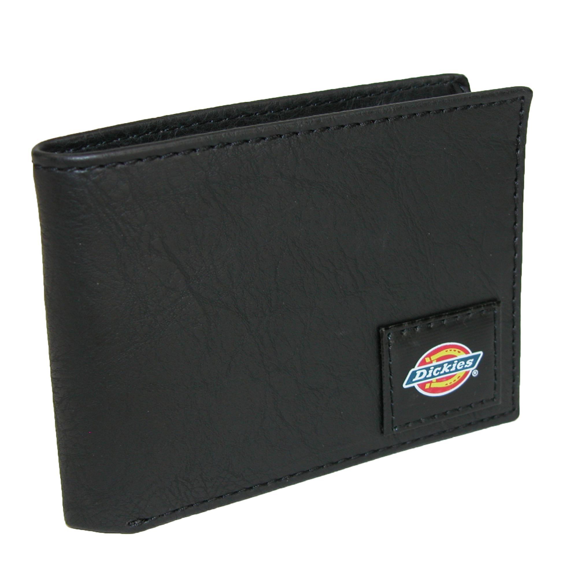 Dickies Men's Leather Slim Basic Bifold Wallet - image 4 de 4