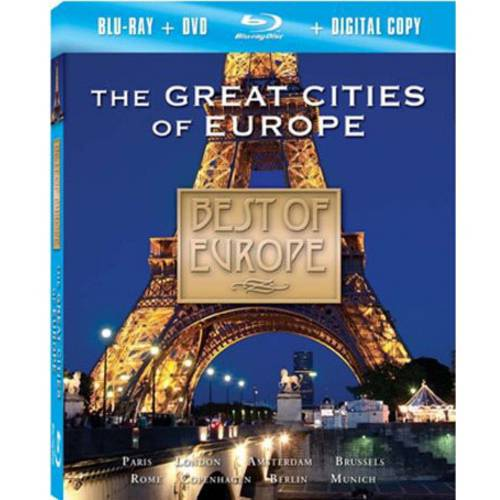 Best Of Europe: The Great Cities (Blu-ray + DVD)