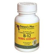 Vitamin B-12 Herbal Lozenges (30 lozenges) by Nature's Plus