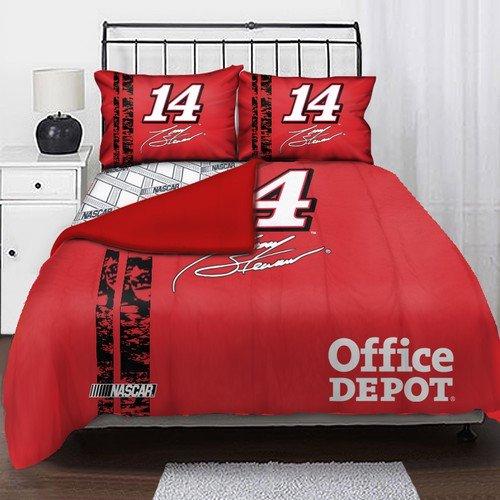 Northwest Co Nascar Tony Stewart Full Bed In Bag Set Walmart Enchanting Nascar Bedroom Furniture
