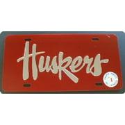 Nebraska Laser Team Plate