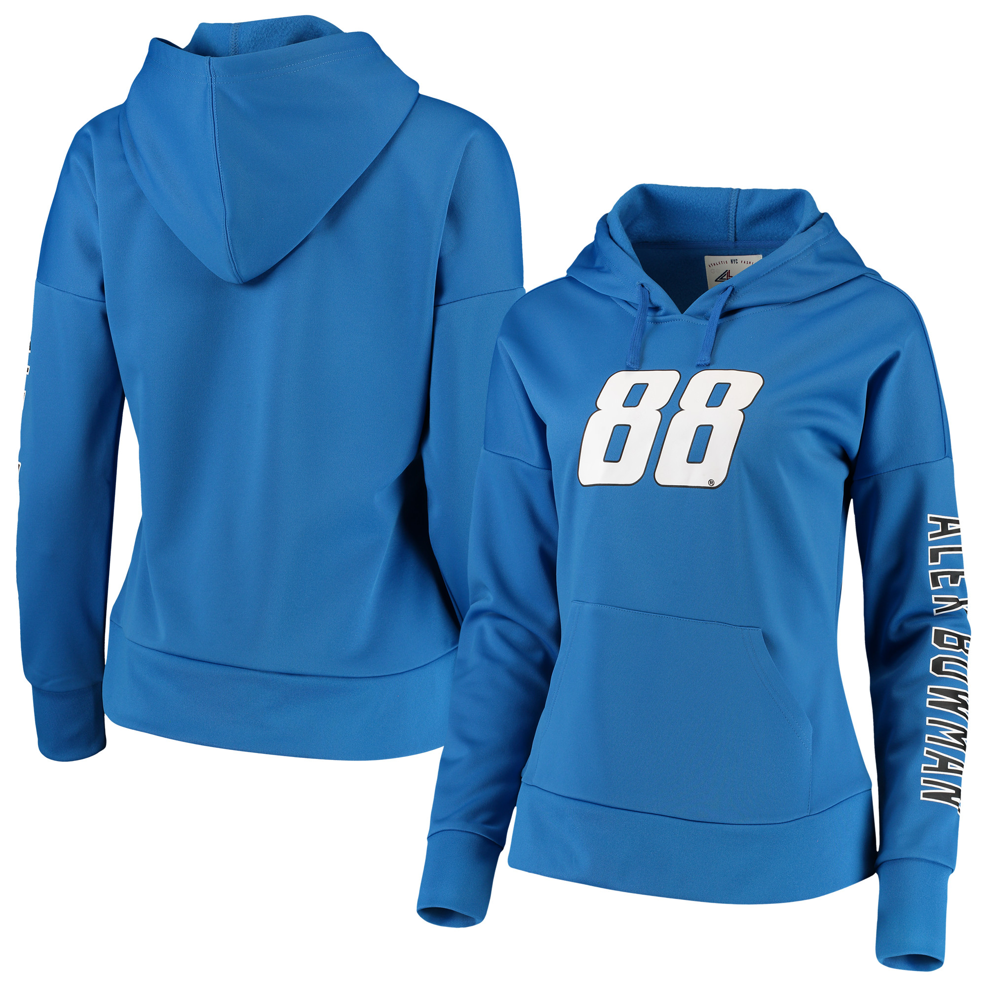 Alex Bowman G-III 4Her by Carl Banks Women's Scrimmage Pullover Hoodie - Blue