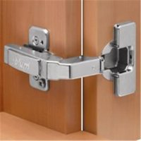 Blum B079B9980 95 deg Blind Corner Overlay Soft Close Dowel - Nickel