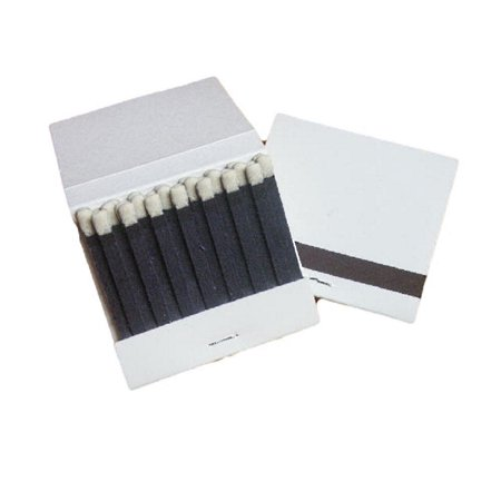 50 Plain White Matches 20 Strike Matchbooks Wedding, Birthday - Wedding Matchbooks