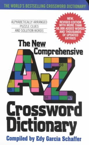 The New Comprehensive A-Z Crossword Dictionary  sc 1 st  Walmart.com & The New Comprehensive A-Z Crossword Dictionary - Walmart.com 25forcollege.com