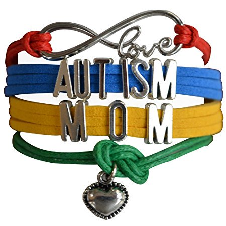 Autism Mom Bracelet, Autism Awareness Jewelry, Autism Puzzle Piece Bracelet Makes the Perfect Gift - Autism Bracelet