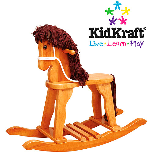 KidKraft - Derby Rocking Horse, Honey