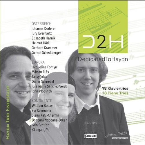 Dedicated To Haydn: 18 Piano Trios