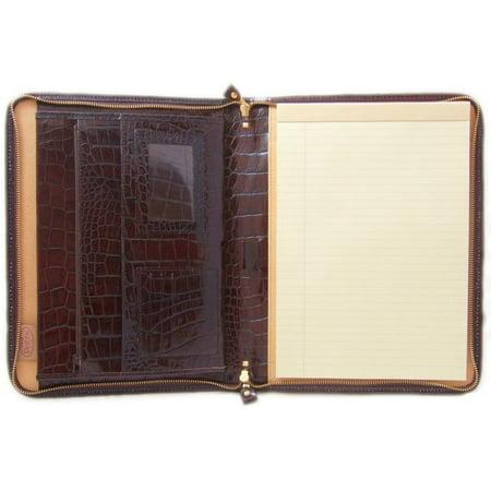 Pratesi Unisex Italian Leather Dante King Portfolio Notepad