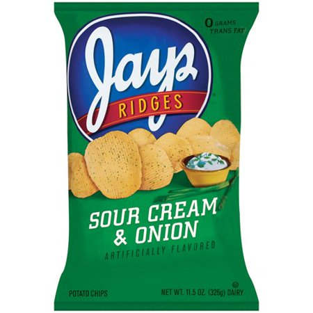 jays sour cream onion potato chips 11 5 oz. Black Bedroom Furniture Sets. Home Design Ideas