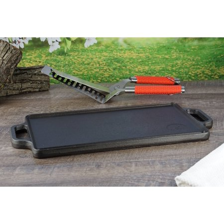 Ozark Trail Small Cast Iron Griddle (Reversible)
