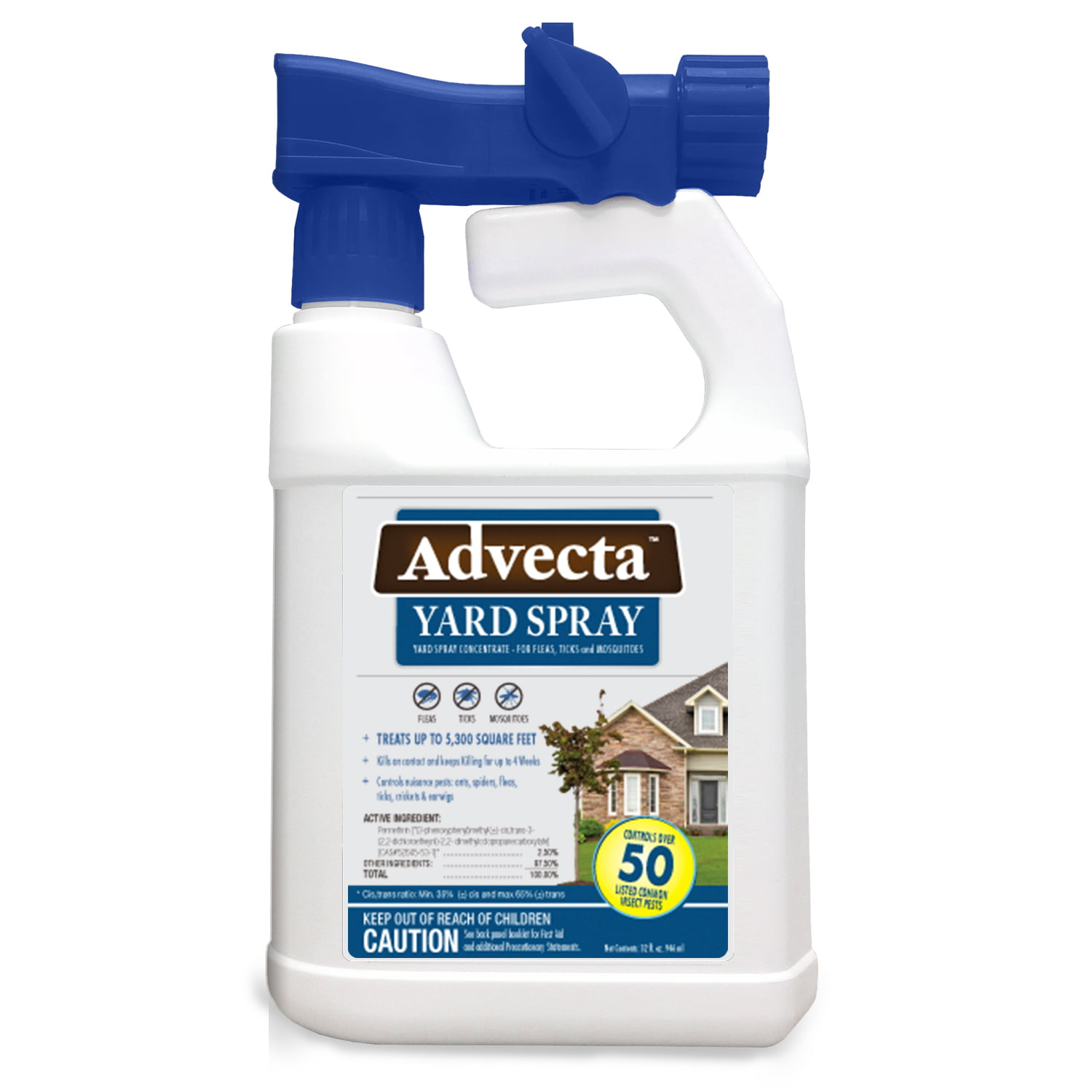 Advecta Flea Tick And Mosquito Yard Treatment Spray For Fleas Tickosquitoes 32oz