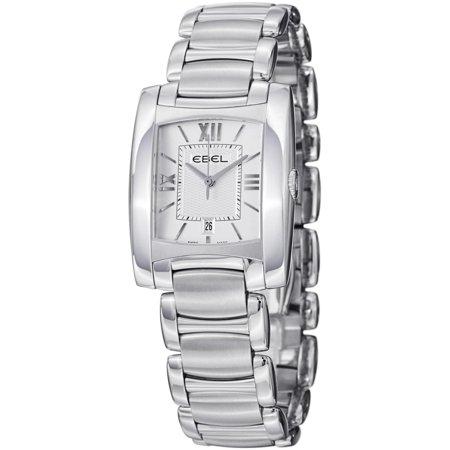 Ebel-Brasilia-9257M32-64500-28x28mm-Silver-Steel-Bracelet-Case-Synthetic-Sapphire-Womens-Watch