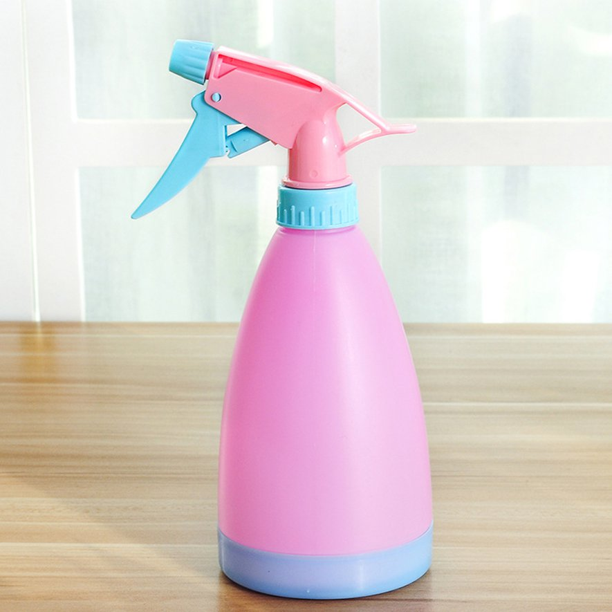 T candy color sprinkling kettle watering kettle small portable spray kettle hand pressure plastic spray sprayer small spray kettle wholesale