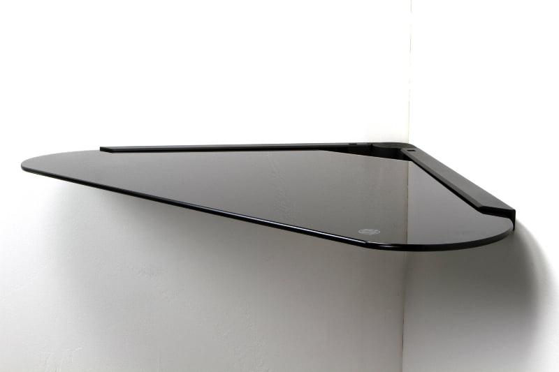 Mw Products Mwcs1 Single Glass Corner Component Shelf