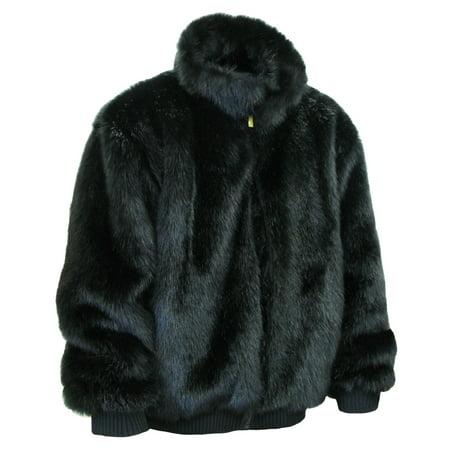 Ablanche Urban Fur Fitter Men's Faux Fur Reversible Jacket 9FJ01 Mink