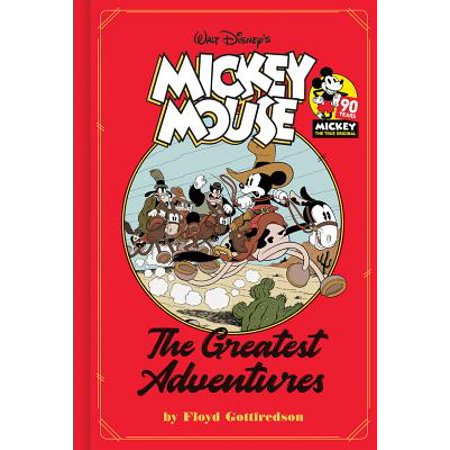 Mickey Mouse : The Greatest Adventures - Mickey Mouse Books
