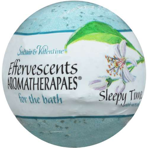 Effervescents Aromatherapaes For The Bath: Sleepy Time W/Neroli Aromatherapaes For The Bath, 80 g