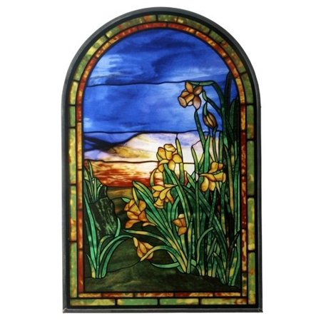 Tiffany Daffodils Stained Glass Daffodil Bell Stained Glass