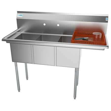 Compartment Bar Sink - 3 Compartment 51