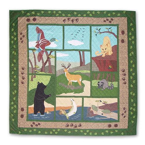 Patch Magic Wilderness Duvet Cover