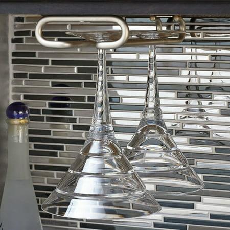 Rev-A-Shelf Hanging Wine Glass Rack Contemporary Hanging Wine Rack