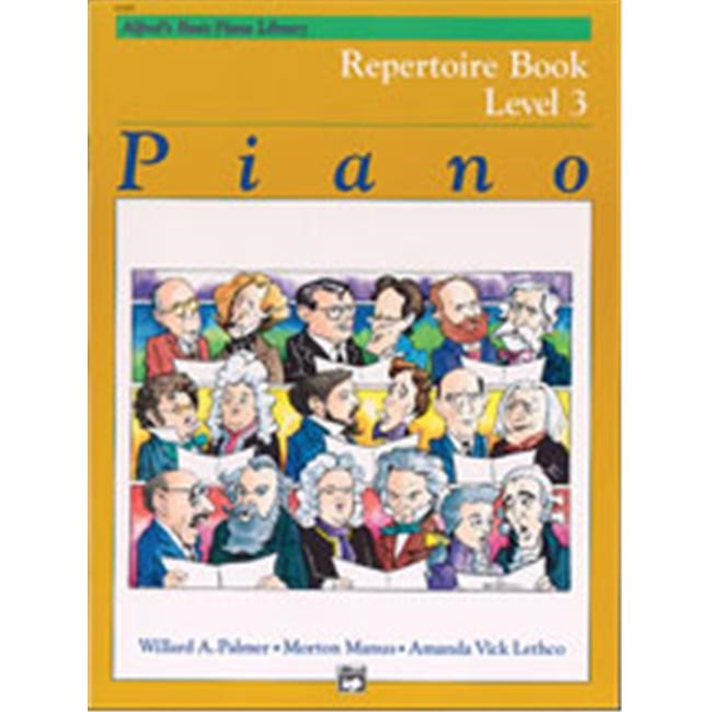 Alfred Alfred's Basic Piano Course Repertoire Book 3