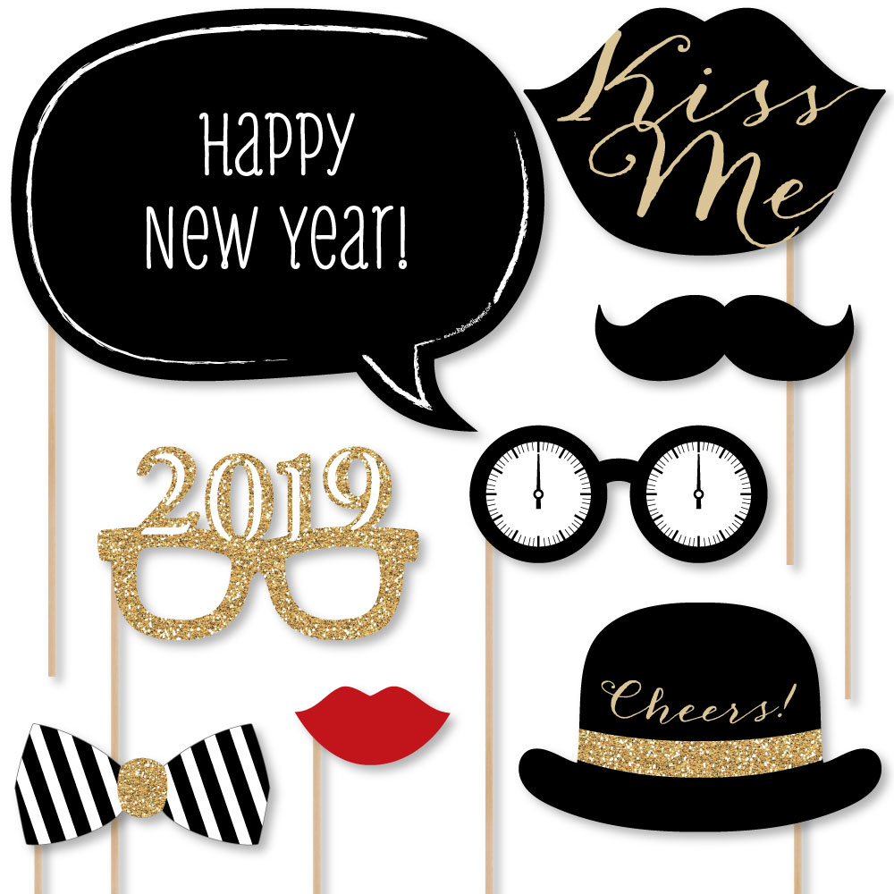 New Years Eve Party - Gold - 2019 New Year's