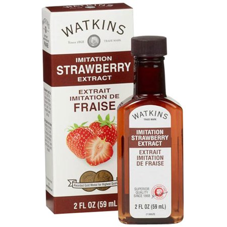 Watkins Imitation Strawberry Extract  2 Fl Oz
