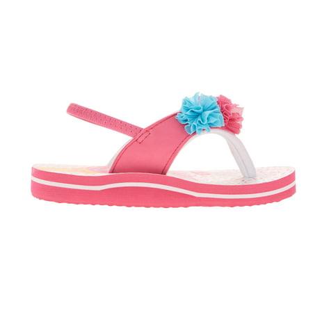d6a2dc0473cb Wonder Nation - Wonder Nation Toddler Girls  EVA Beach Flip Flop ...