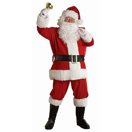 Regal Plush Santa Adult - Naughty Santa Costumes
