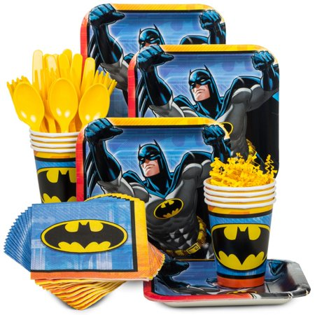 Batman Standard Kit (Serves 8) - Party Supplies