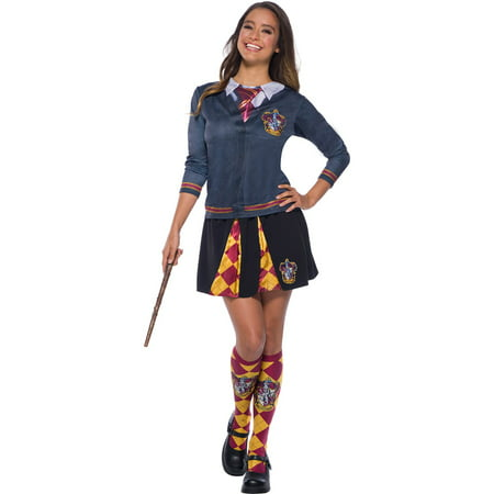 The Wizarding World Of Harry Potter Adult Gryffindor Socks Halloween Costume - Gryffindor Robe Adult
