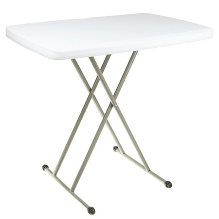 Folding Table, Foldable Table and TV Tray by Everyday Home (Great for Laptops) ()