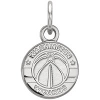 LogoArt NBA Washington Wizards Sterling Silver Extra Small Pendant