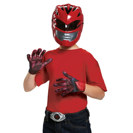Red Ranger 2017 Access Kit Boys Child Halloween Costume, One Size