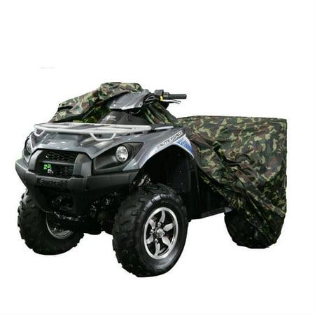beamnova xxxl atv cover universal 4 wheeler camouflage cover