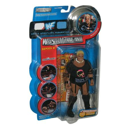 WWF Wrestlemania XVII Series 8 Rikishi WWE Jakks Pacific Figure Wwe Jakks Toy Figure