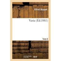 Varia Tome 06