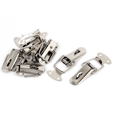 7pcs Toolbox Chest Case Lockable Fastening Toggle Latch w Catch Plate - image 2 of 2