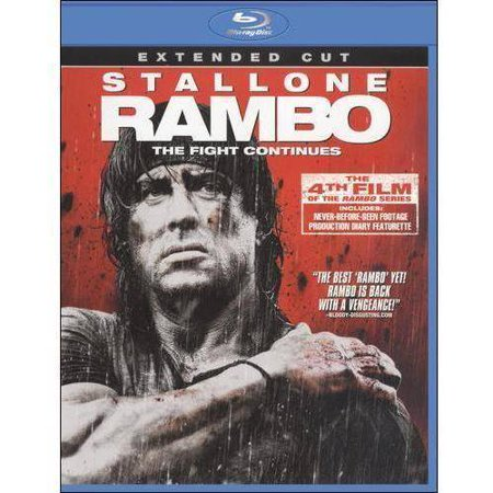 Rambo  The  Fight Continues  2008   Extended Cut   Blu Ray   Widescreen