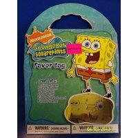 SpongeBob Squarepants Nick Jr. TV Cartoon Birthday Party Favor Gift Goody Bag