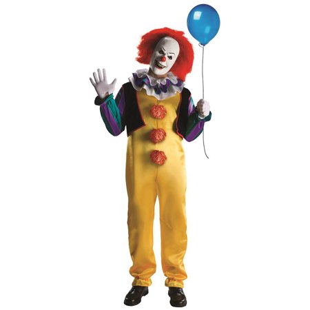 Pennywise Clown Deluxe from 1990 Movie Stephen King's IT Teen Adult Costume R881562 - Extra Small (up to 34 - Trinity From Matrix Costume