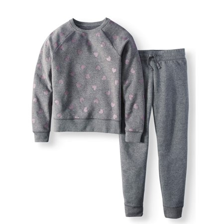 Athletic Works Girls Fleece Sweatshirts