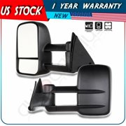 Power Tow Mirror For 88-98 Chevy C/K 1500/2500/3500 Side Vew Towing Mirrors PAIR