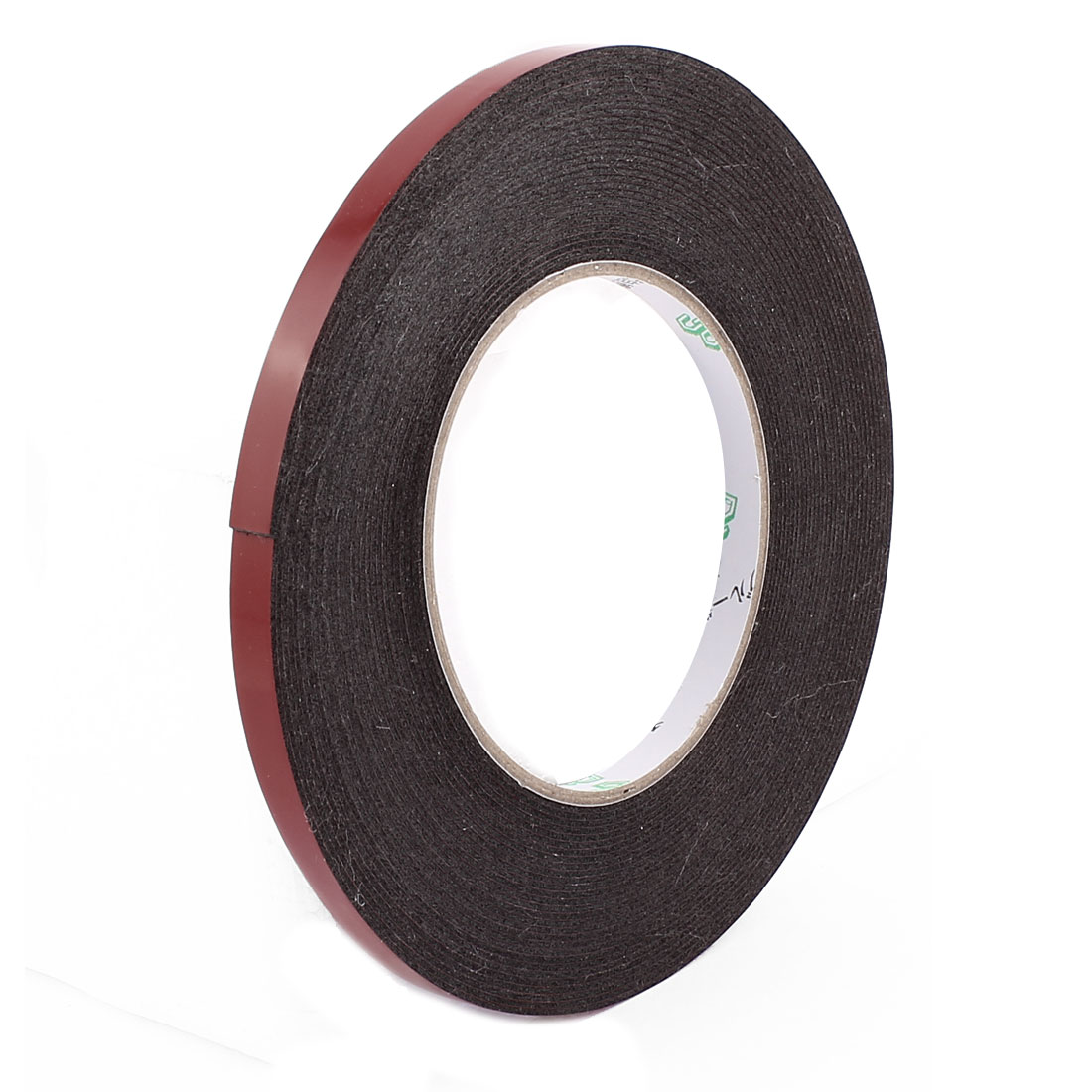 0.8CM Width 10M Length 1MM Thick Dual Sided Sealing Shockproof Sponge Tape Black