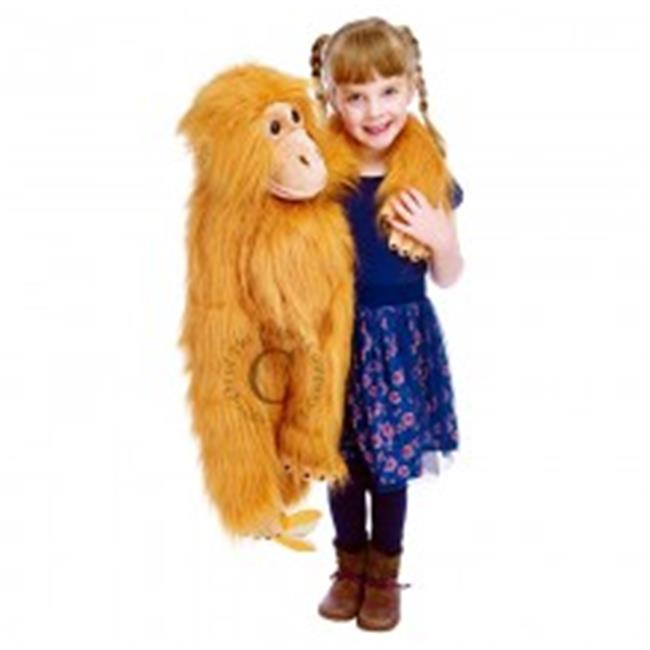 Orangutan Puppet 29 inch Stuffed Animal by Puppet Company (004101) by Puppet Company