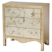 Accent Chest in Gold and Silver